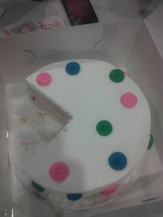 Cute poka-dot B-day cake!!