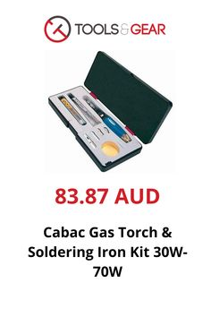 Low cost quality gas torch and soldering iron kit. Packed in a sturdy plastic box with a roll of solder and it is supplied with a tip wiping pad with full instructions. Computer Gadgets, Soldering Iron, Plastic, Kit