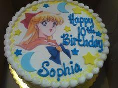 Sailor Moon cake  https://www.facebook.com/MonicakesMichigan?ref=hl