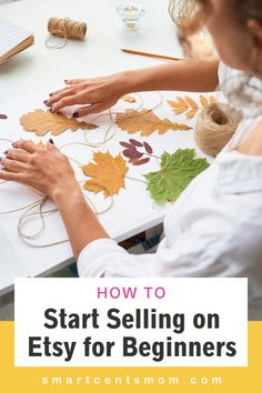 If you're a crafter looking for a way to make some extra money or to expand your customer base, you'll want to start selling on Etsy. Not sure where to start? Don't worry! I'll show you exactly how to start selling on the crafting platform and to successfully launch an Etsy shop. Make Easy Money Online, Way To Make Money, Online Side Jobs, Etsy Shop Names, Sell Things, Making Extra Cash, Types Of Craft, Crafts To Make And Sell, Selling Online