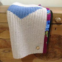 Gehäkelter Teppich aus recycelter Baumwolle von eldoku auf Etsy                                                                                                                                                      Mehr