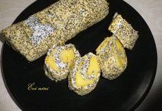 Citromos mákrolád Diabetic Recipes, Diet Recipes, Low Sugar, Food And Drink, Sweets, Snacks, Cookies, Vegetables, Breakfast