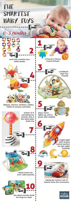 Smartest Baby Toys 0-3 Months ~ MightyMoms.club