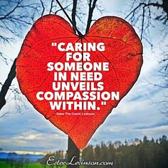 Our natural instinct is to care for others; There is no better feeling in the world.   Much love  Estee   #love #coaching #enlightenment #soul #spirituality #yoga #exercise #peace #winning #passion #hope #inspiration #confidence #success #relationship  #quotes #motivationalquotes #meditation  #mastery #mindfulness #healing #happiness #life #grow #create #change #challenge #lifestyle #compassion