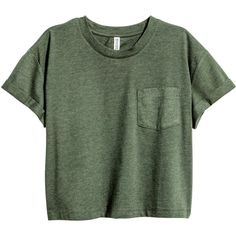 Short T-shirt $9.99 (33 BRL) ❤ liked on Polyvore featuring tops, t-shirts, shirts, crop tops, green shirt, short sleeve jersey, crop t shirt, short sleeve tops and jersey t shirt