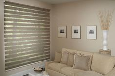 Window Treatment by Dunn's Furniture & Interiors!