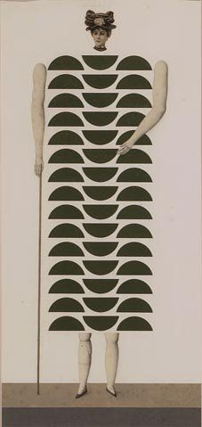 Collage - Roberto Aizenberg Style: Surrealism Genre: portrait