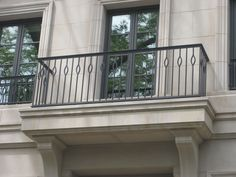 Exterior Rails | Builders Ironworks, Inc