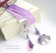 Hey, I found this really awesome Etsy listing at https://www.etsy.com/pt/listing/177044493/luxury-purple-blossom-crystal-ribbon