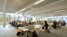 Alan Gilbert Learning Commons, University of Manchester, by Sheppard Robson