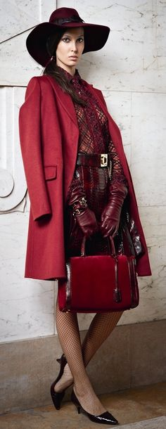 """salvatore ferragamo prefall 2012..""""The difference between us and the animals is our ability to accessorize."""".....Steel Magnolias"""
