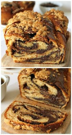 The best chocolate babka ever! Made just a little healthier with whole grain. #wholegrain #chocolate #babka