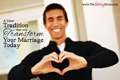 A simple tradition that will transform your marriage! Takes less than a minute a day!. www.TheDatingDivas.com #showlovetospouse #strenthenmarriage #marriagetradition