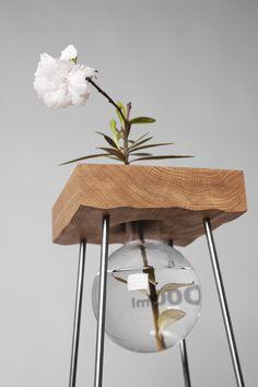 MilKDecoration - Studio Vjemy - A Table for A Flower  https://www.facebook.com/livebird.co/ - www.livebird.co