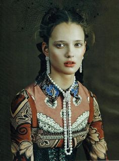 Vogue Italia, Alicja Desmarchelier, Zana Bayne