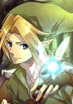 Legend of Zelda Ocarina of Time art > Link and Navi The Legend Of Zelda, Legend Of Zelda Breath, Ben Drowned, Resident Evil, Pokemon, Wind Waker, Twilight Princess, Breath Of The Wild, Super Smash Bros