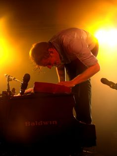 Andrew McMahon. My favorite artist ever! I am so lucky to have seen him as both Something Corporate and Jack's Mannequin.