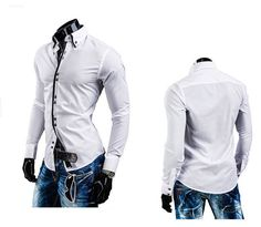 Factory direct sale china Cheap wholesale hot sale 2017 spring autumn new men fashion casual slim Long sleeve shirt #Affiliate