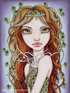 Dryad - 5x7 print by Tanya Bond. Starting at $5 on Tophatter.com!