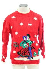 Landscape ugly Christmas sweater from TheSweaterStore.com