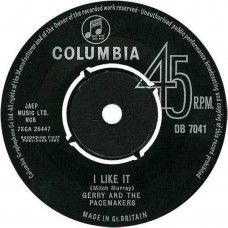 """7"""" 45RPM I Like It/It's Happened To Me by Gerry And The Pacemakers from Columbia (DB 7041)"""