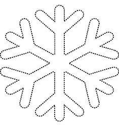 snowflake Coloring Pages snow Christmas Ornament Template, Christmas Templates, Felt Christmas Ornaments, Christmas Decorations, Christmas Crafts For Kids, Christmas Activities, Christmas Art, Holiday Crafts, Snowflake Coloring Pages