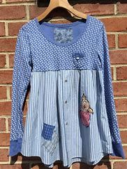 Image result for Upcycled Clothing Projects Altered Couture, Sewing Clothes, Diy Clothes, Sewing Men, Clothes Women, Umgestaltete Shirts, Diy Kleidung, Diy Vetement, Shirt Refashion