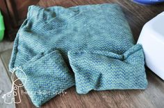 Corn Filled Heating Bag :: another diy heating pad. :3