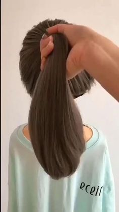 Cute Little Girl Hairstyles, Easy Hairstyles For Long Hair, Beautiful Hairstyles, Short Girl Hairstyles, Sock Bun Hairstyles, Kids School Hairstyles, Relaxed Hairstyles, Trendy Hairstyles, Wedding Guest Hairstyles