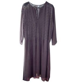 Swildens Kleid GOUTTE black