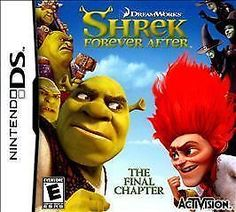 Shrek Forever After Nintendo DS Factory Sealed Video Games Gamers Challenges New