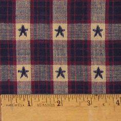 Star Dobby Homespun Cotton Fabric    Love this fabric!!!