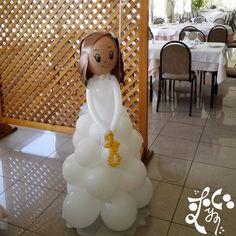Regala nuestros muñecos de comunión de globos, triunfarás seguro « eLeyCe Eventos   Valencia