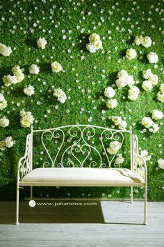 This is an idea for your reception entrance's backdrop.