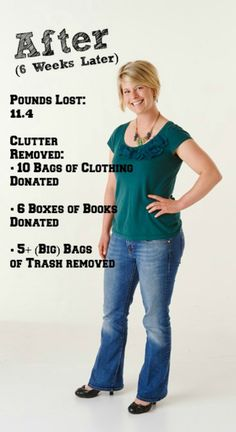 How Decluttering Helps You Lose Weight, Ease Stress - See how a busy journalist and farmer lost 10+ pounds.