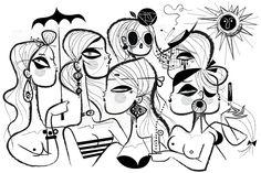 Kirsten Ulve es una ilustradora freelance neoyorquina especializada en temas demoda y estilo de vida, en su amplio portafolio encontramos infinidad de trabajos para las revistas y periódicos mas i…