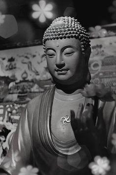 """One is not low because of birth nor does birth make one holy. Deeds alone make one low, deeds alone make one holy."" ~ Sutta Nipāta ॐ lis Buddhist Symbol Tattoos, Hindu Tattoos, Buddhist Symbols, Buddha Tattoos, Buddha Buddhism, Buddha Art, Buddha Head, Hanya Tattoo, Ganesha Tattoo"