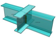 AISC - Beam to Beam with directly welded flanges and shear plate