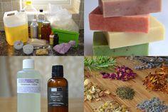 Verdes preciosas | La Belleza de la Vida en el Campo: elaboración del jabón natural para Principiantes - Ingredientes