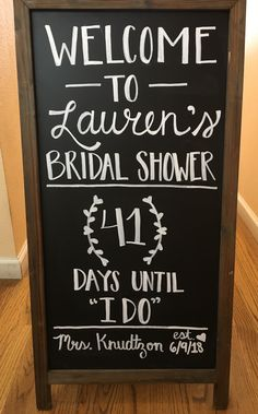 4189363f494 Bridal shower signs by Amanda Kay - welcome