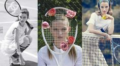 Giocare a tennis. Uno degli sport più alla moda, a partire dal look