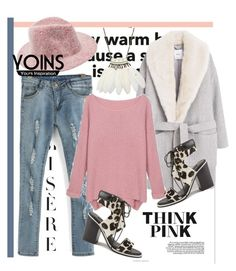 """""""Yoins 14"""" by lasmo ❤ liked on Polyvore featuring MANGO, Senso, women's clothing, women, female, woman, misses and juniors"""