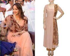 Lakshmi Manchu in Bhumika Sharma #perniaspopupshop #shopnow #celebritycloset #designer #clothing #accessories