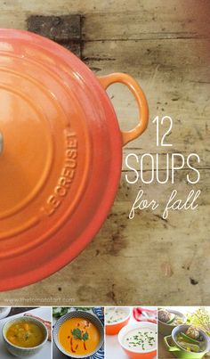 12 soups for fall