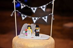 #lego #wedding cake topper