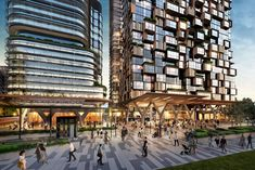 Building Front, Mix Use Building, Landscape Concept, Landscape Architecture, Green Corridor, First Home Buyer, Mixed Use Development, Public Realm, Far Away