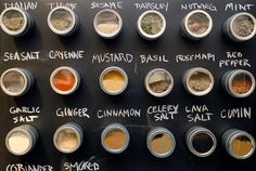 Magnetic Spice Rack/Wall