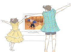 It's too cute. (Headcanon formed: Every time these two watch Disney movies, they dance with the music in the dance scenes. Hetalia New Zealand, Hetalia Australia, Hetalia Headcanons, Naruto, Disney Movies To Watch, Canada, Axis Powers, Wattpad, So Little Time