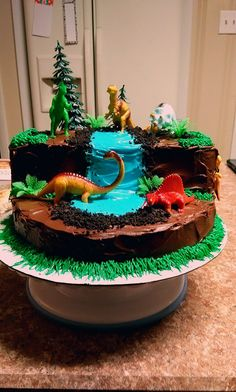 Excellent Image of Dinosaur Birthday Cake Dinosaur Birthday Cake Dinosaur Cake Cake Therapy Kare Fourth Birthday, 4th Birthday Parties, Birthday Fun, Birthday Recipes, 5th Birthday Ideas For Boys, Birthday Cake Kids Boys, Outdoor Birthday, Dinosaur Birthday Cakes, Cool Birthday Cakes