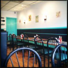 Breakfast, burgers & BBQ at Allston Diner in Boston, MA #vegan